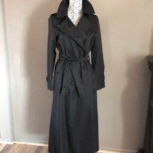 Authentic Burberry trench coat long